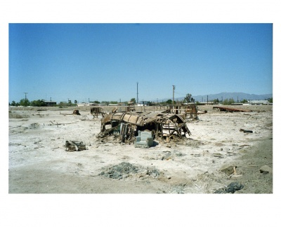 Bombay beach, USA