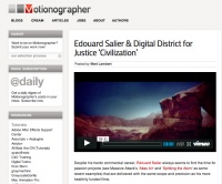 Motionographer : Edouard Salier & Digital District for Justice 'Civilization'