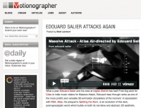 Motionographer: Edouard Salier Attacks Again